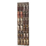 Over the Door Shoe Organiser - 24 Breathable Pockets, Hanging Shoe Holder for Maximising Shoe Storage