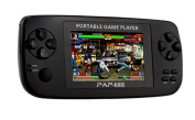 Huntmic 8.9cm Portable Handheld Game Console,64BIT PAP KIIIS Games Perfectly support Arcade Game/GBA/SFC/SNES/SEGA/FC/NES games and MP3 Music Player Camera