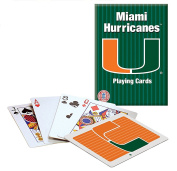 Officially Licenced NCAA Miami Playing Cards
