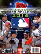 2016 MLB Sticker Collection Album