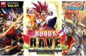 Future Card BuddyFight Buddy Rave Booster Pack