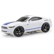 New Bright 1:24 R/C Full-Function Sport Car, Mustang, White