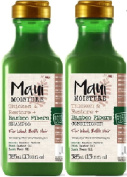 (2 PACK) Maui Moisture Thicken & Restore Bamboo Fibre SHAMPOO x 385ml & Maui Moisture Thicken & Restore Bamboo Fibre CONDITIONER x 385ml