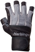 Harbinger Men's Bio-Form with Heat-Activated Cushioned Palm Weightlifting Glove