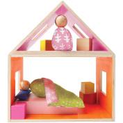 Manhattan Toy MiO Sleeping + 2 People Wooden Building Set