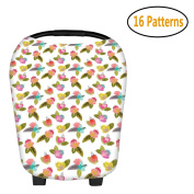 ZTWL Nursing Breastfeeding Cover Scarf Baby Car Seat Canopy Shopping Cart Stroller Covers for Girls and Boy
