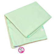 Zicac Washable Splat Mat Tablecloth High Chair Floor Protector Mat Cover