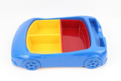 HJXJXJX Children's Bowl Cute Car Styling Pp Material Can Be Hot Water To Wash The Sub-Standard Baby Plate