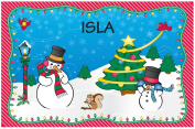 Christmas Placemat - Isla