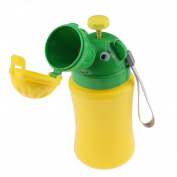 Sharplace Babies Boy Portable Potty Urinal Training for Camping Car Travel Emergency Pee Pot for Children's Bedroom, Green