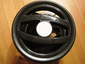 Peg Perego Double Front Wheel for Pliko P3 Compact and Switch Black / White from 2011 Collection