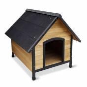 *Wooden Dog Kennel – Black .