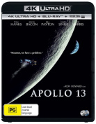 Apollo 13  (4K UHD/Blu-ray/UV) [Region B] [Blu-ray]