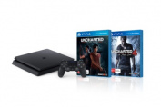 PlayStation 4 Console 1TB Slim with Uncharted 4 A Thiefs End and Uncharted The Lost Legacy