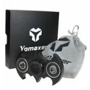 Yomaxer Fidget Spinner Bat Shape Hand Spinner R188 Main Bearing Cool EDC Focus Toy