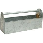 Mix The Media Galvanised Tool Box, 43cm x 13cm x 20cm