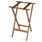 Central Specialties LTD Deluxe Wood Tray Stand with Strap