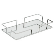 Modern Rectangular Vanity Mirror Tray