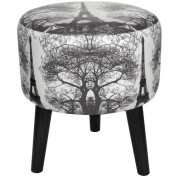 Oriental Furniture Eiffel Tower Stool
