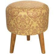 Oriental Furniture Damask Stool