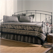 Bowery Hill Metal Daybed in Black Walnut