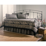 Bowery Hill Daybed with Link Spring and Trundle in Black Walnut