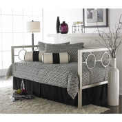 Bowery Hill Daybed with Link Spring and Trundle in Champagne