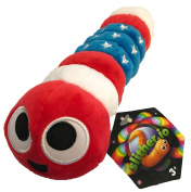 Slither.io 20cm Bendable Plush Toy with tag - Patriot American Flag colour …