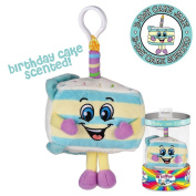 Whiffer Sniffers Birthday Cake Jake Scented Backpack Clip