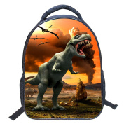 ELEOPTION 3D Kids Backpack Dinosaur Animal Printed Children's School Bag for Kindergarten Toddler Boys Girls for Elementary School