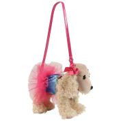 Poochie Co. Sadie with Rainbow Sequins and Tutu Plush Handbag