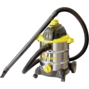 Tornado 30.3l Stainless Steel Wet Dry Vacuum With Accessories