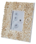 Natural 5X7 Natural Shell Flower Pattern Frame