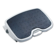SoleMate Plus Adjustable Footrest w/SmartFit System, 3-1/2h to 5h, Platinum/Grey, Sold as 1 Each