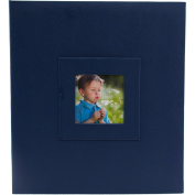 Pinnacle Frames and Accents Magnetic Blue Photo Album