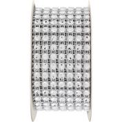 Simplicity 7-Row Rhinestone Trim, Silver, 187095002070W