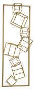 Gold Angular Study Wall Decor