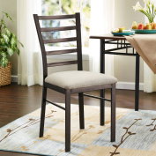 Mainstays Accent Chair, Oil-Rubbed Bronze Finish, Multiple Colours