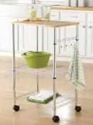 Mainstays Multi-Purpose Kitchen Cart, Multiple Colours