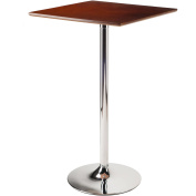 Winsome Kallie Square Pub Table, Cappuccino