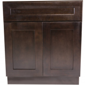 Design House 561977 Brookings 80cm Base Cabinet, Espresso Shaker