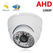 Ktaxon 1080 AHD 2MP HD Analogue Night Vision Wide Angle Dome Security CCTV Camera IR-CUT