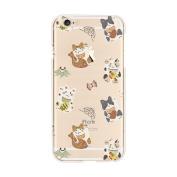 iPhone 7 Plus Case, Txibi Beauty Design Flexible TPU Slim Phone Protect Case Cover for iPhone 7 Plus 14cm