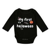 Baby Pumpkin Jumpsuit , Keepfit Halloween Infant Long Sleeve Romper Boys Girls Clothes