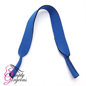 Glasses / Sunglasses Neoprene Stretchy Sports Neck Strap - Blue