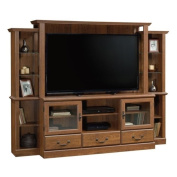 Pemberly Row Entertainment Centre in Milled Cherry