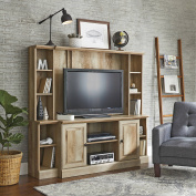 Better Homes and Gardens Crossmill Weathered Entertainment Wall Unit for TV's up to 110cm