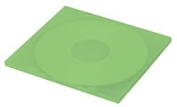 CheckOutStore 100 SLIM Green Colour Single VCD PP Poly Cases 5MM