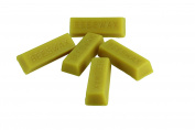 Yellow Brick Road Cosmetic Grade Hand Poured Beeswax - ~30ml Each - Premium Quality, Cosmetic Grade, Triple Filtered Bees Wax