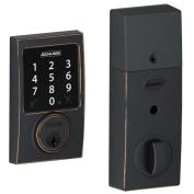 Schlage Lock Company BE468CEN716 Connect Century Touchscreen Deadbolt, Aged Bronze